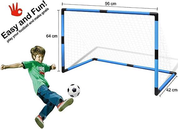 Portería infantil futbol con marco plástico y pelota MOD.PEN@LTY ...