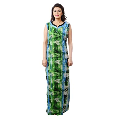 f15c4acccd FARRY Comfortable Sleepwear Nighties for Women - Cotton Hosiery Nighty for  Women Nighty for Ladies