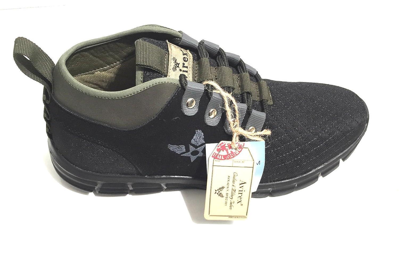 sneaker Avirex scarpe mod.crew verde m. sol. memory foam u17av01   Amazon.it  Scarpe e borse 487646b0502