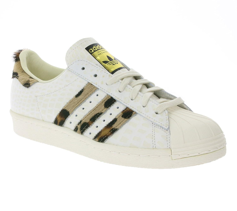 Adidas Adidas Adidas Originals Superstar 80s Animal Schuhe Herren Turnschuhe Turnschuhe Weiß S78955  5b4cc1