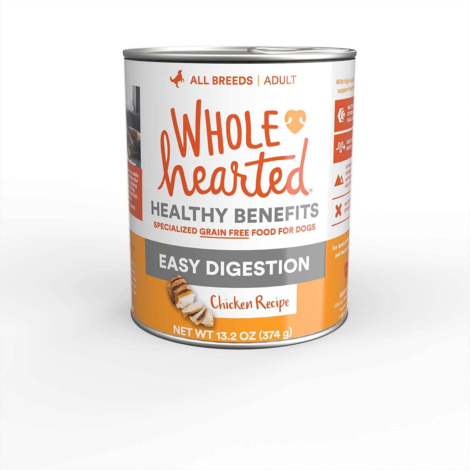 WholeHearted Easy Digestion Chicken Recipe Wet Dog Food