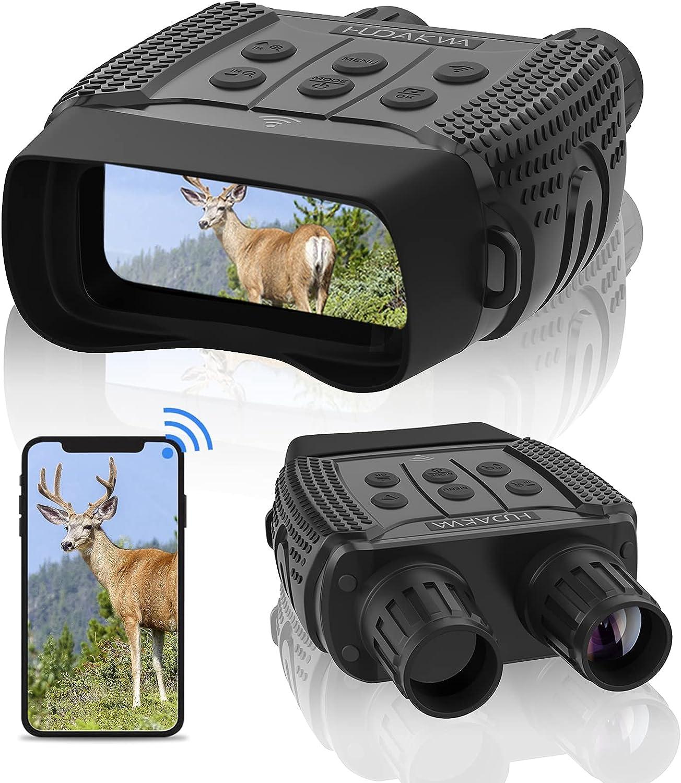 Hudakwa 1280x960 WiFi Night Vision Binoculars $100.64 Coupon