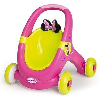 Amazon.es: Smoby - Cochecito para muñecas Minnie Mouse ...