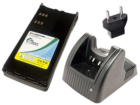 Amazon.com: Motorola MTX8250 Batería y Cargador con ...