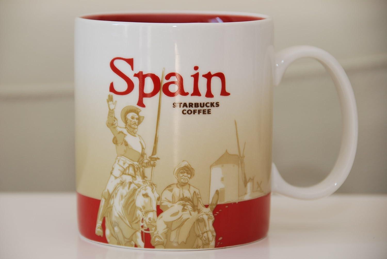 Starbucks de España (España) Global Icon taza de café 16 oz: Amazon.es: Hogar