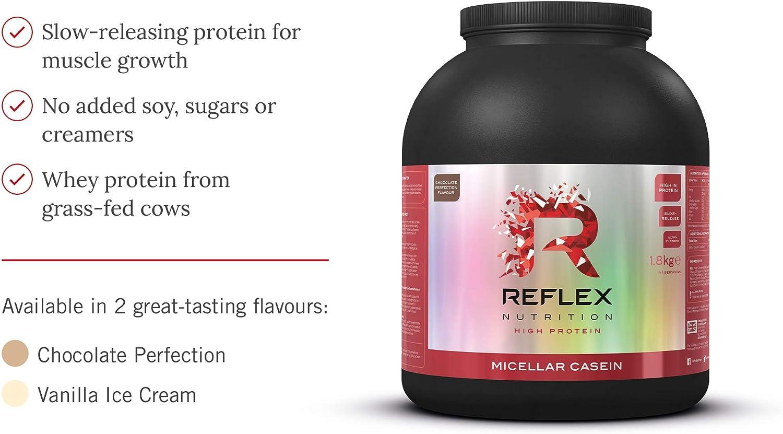 Reflex Nutrition Mezcla De Proteína De Liberación Lenta ...