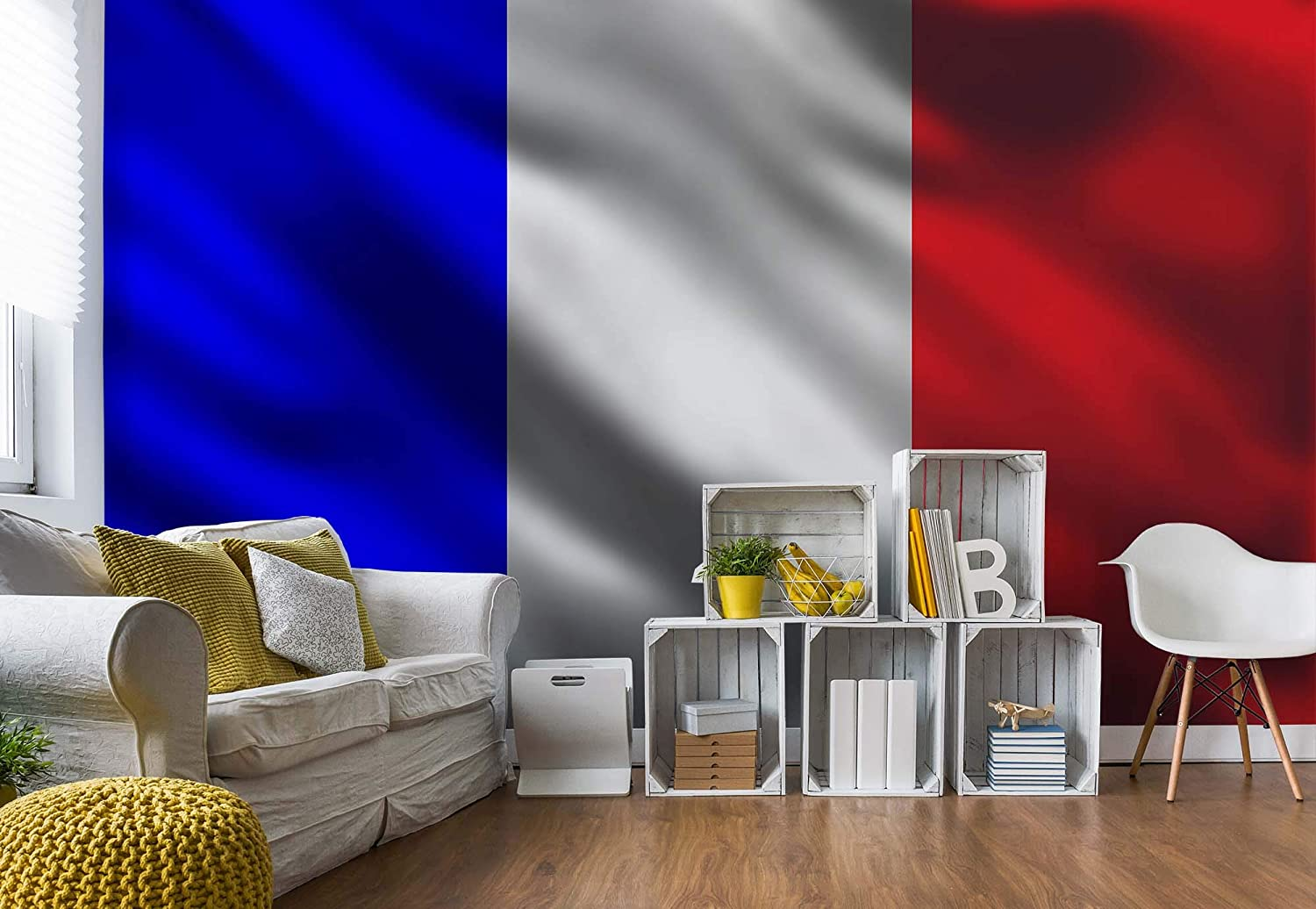 French Flag France Photo Wallpaper Wall Mural Giant