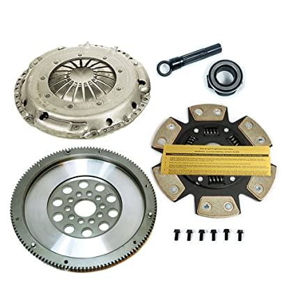 Amazon.com: SACHS-EFT STAGE 3 DISC CLUTCH KIT & FORGED FLYWHEEL 95-02 VW GOLF / JETTA VR6 GTI: Automotive