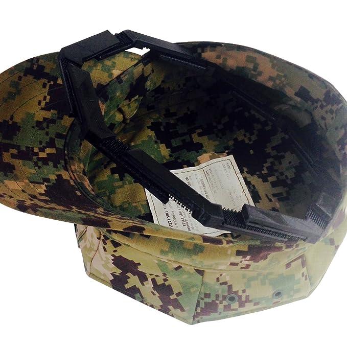 amazon com usmc and navy adjustable military patrol cap 8 point