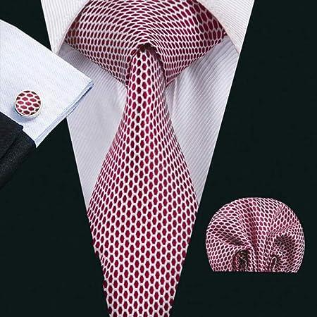 QEHWS Corbata Corbata para La Boda Corbatas De Los Hombres con ...