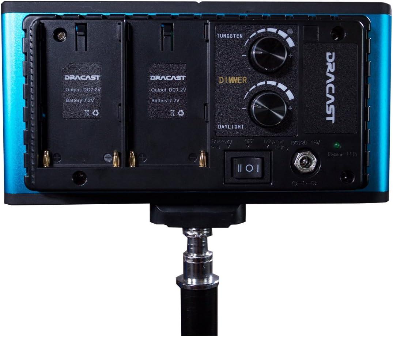 Dracast Camlux Pro Bi-Color On-Camera Light DRCAMLPROB