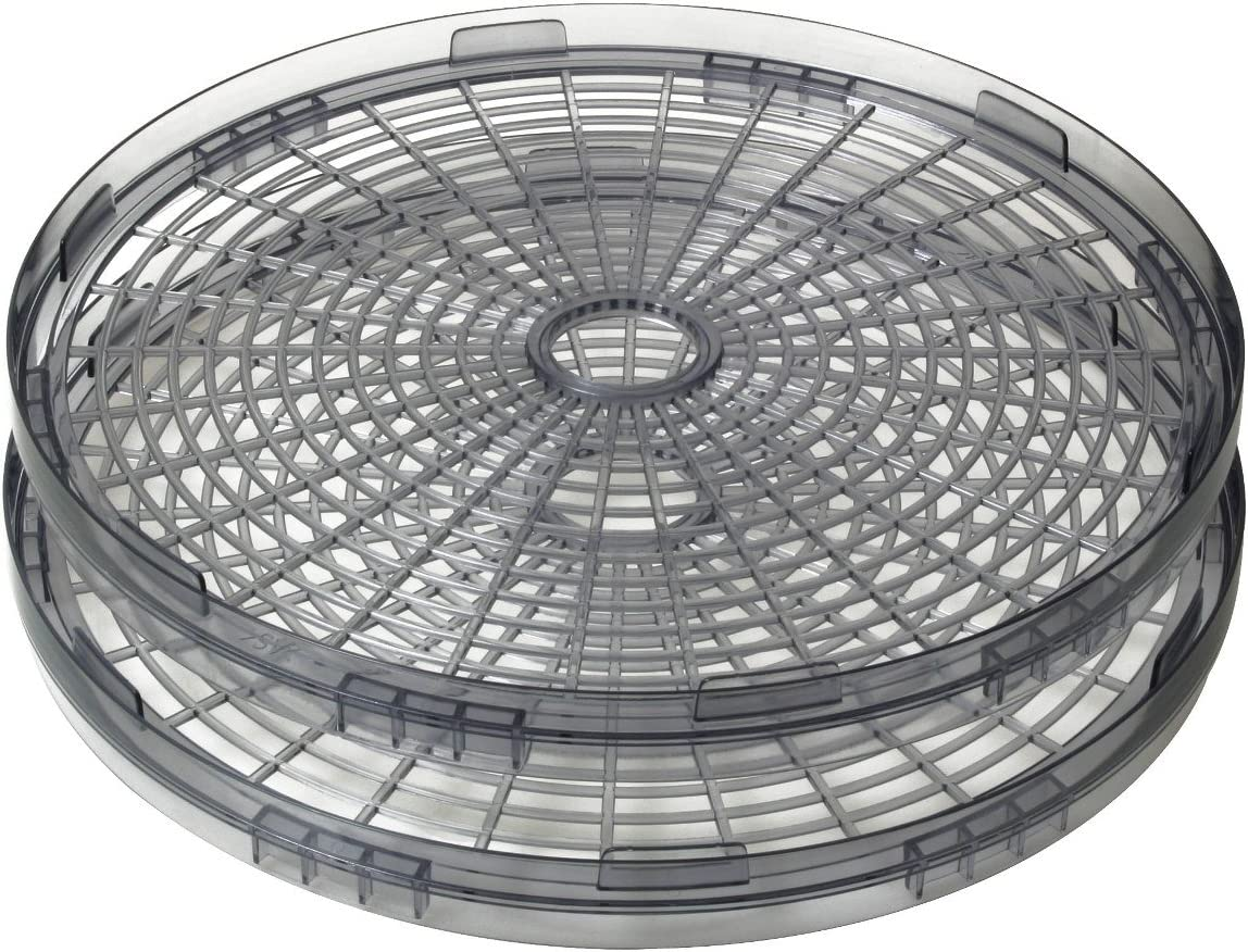Two-Pack Drying Tray Accessory for VKP1006 Dehydrator by VICTORIO VKP1007