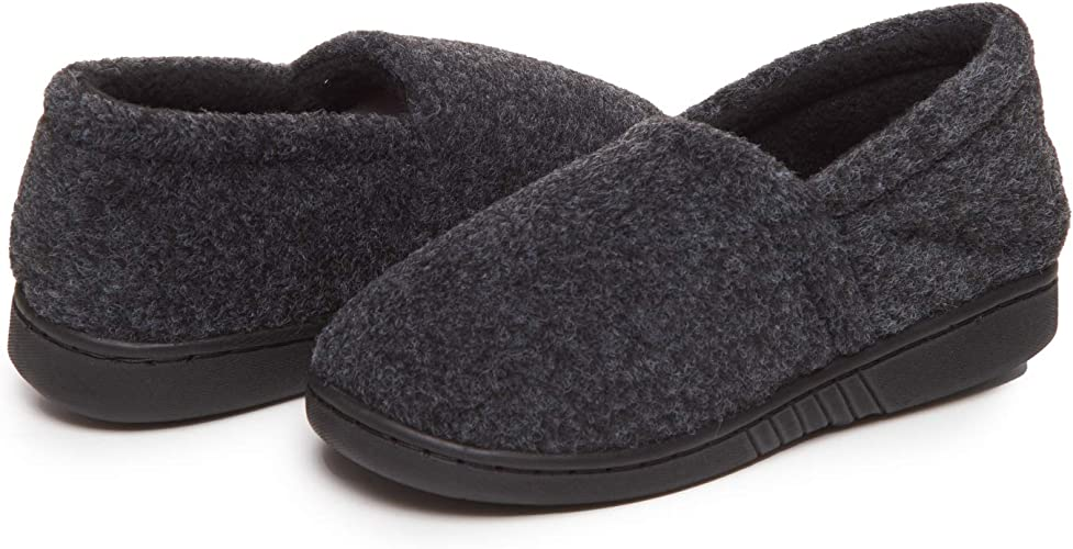 Skysole Boys/' Slippers Lightweight and Comfortable A-Line Slip-Ons with Rubber Soles