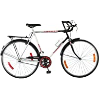 Hero Hawk Nuage 27T Single Speed Cycle (Silver/Black)