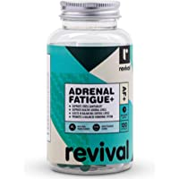 Revival Adrenal Fatigue+   120 Capsules   Natural cortisol manager with Adaptogenic Herbs, 120 count