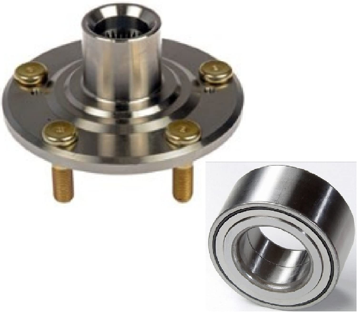 Type S 8USAUTO Single Front Left or Right Wheel Hub and Bearing fit 2002 2003 2004 2005 2006 Acura RSX
