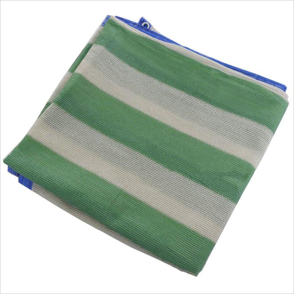 PENGFEI オーニングシェーディングネット 厚い 園芸 工場 日焼け止め ルーフ シェード 周囲 パンチ ポリエチレン、 複数のサイズ (色 : Green+white, サイズ さいず : 2 x 5m) B01CEVWNLQ 2 x 5m Green+white Green+white 2 x 5m