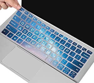 Keyboard Cover Skin for 2021 Dell Inspiron 14 5400 2-in-1 5402 5405 5406 5490 5493 5498 & Dell Inspiron 7000 14