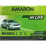 AMARON CAR BATTERY 105D31LMF 12V 80AH