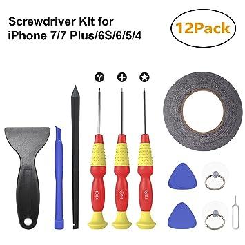 Kit de herramienta de reparación profesional con destornilladores ...