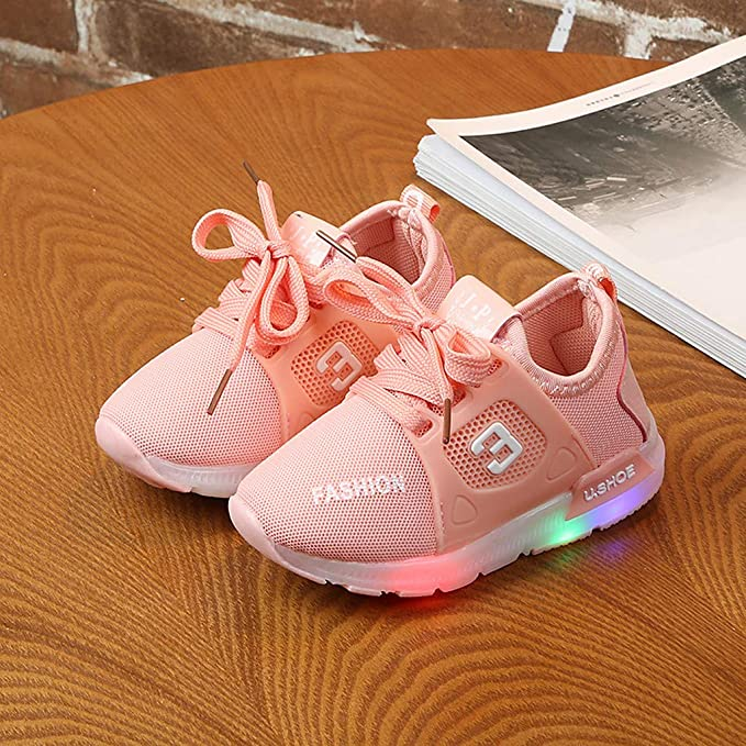 Lucoo Toddler Little Kid Boys Girls Bohemian Casual Flat Shoes Running Shoes