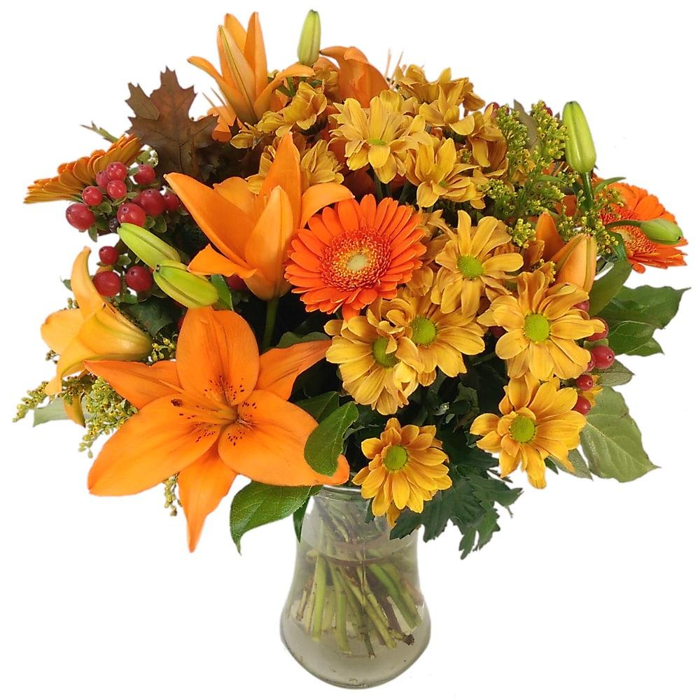 Clare Florist Fresh Flowers Autumn Glow Bouquet