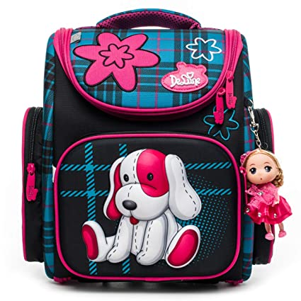 Primary School Bag Backpack for Girls db876e6d66ab3