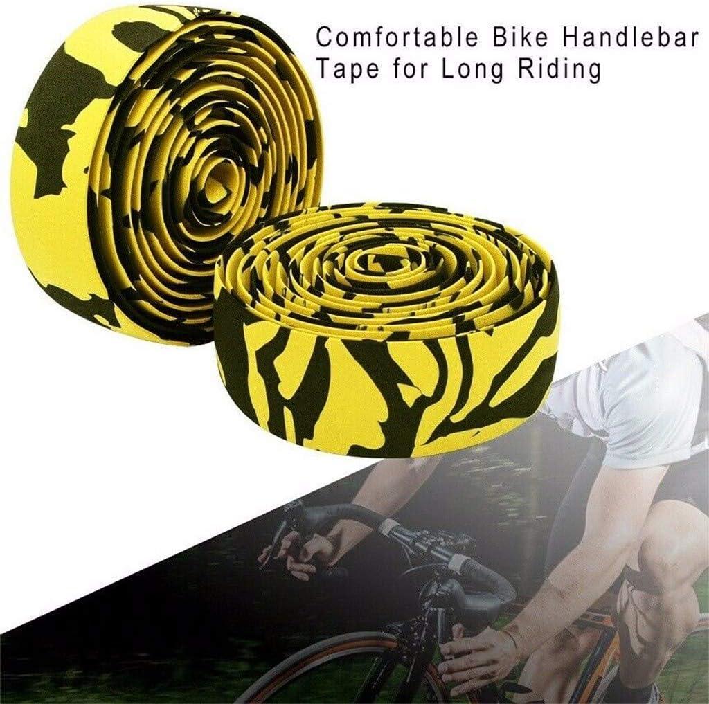 Mountainbike Citybike Road Bike 2 St/ück Fahrrad Lenkerb/änder Eva Lenkerband inkl Endstopfen und Klebestreifen Rei/ßfeste Griffband f/ür Rennrad Cycling Fahrrad
