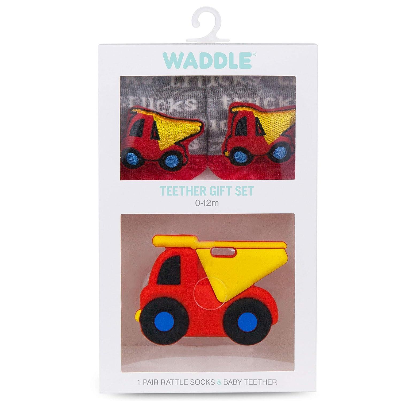 Amazon.com: Waddle - Calcetines de sonajero para bebé y ...