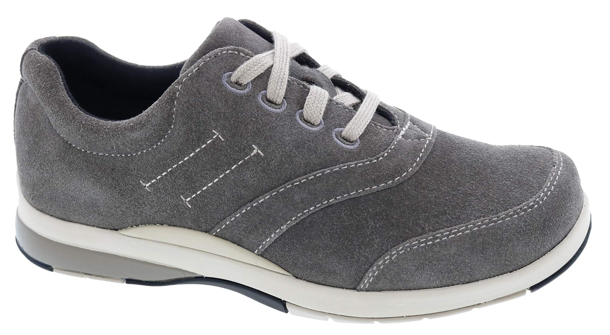 Drew Woman Columbia 10829 Grey/Suede/Leather Suede 8.5 Wide (D) US by Drew Shoe