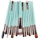 GUAngqi 15 pcs Makeup Brush Set tools Wool Makeup Toiletry Kit