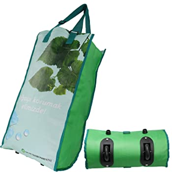 Devobunch Foldable Collapsible Reusable Grocery Bag