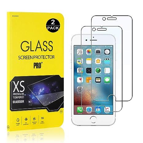SONWO iPhone 6 iPhone 6s Cristal Vidrio Templado Templada iPhone 6s 1 Pack Protector de Pantalla para Apple iPhone 6