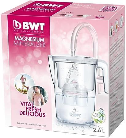 BWT Vida Manual – Jarra filtradora de agua con magnesio 2,6 L Blanco