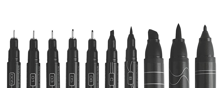 Pencils Eraser and Tips Pamphlet 13 Count Art Markers Prismacolor 2023754 Premier Advanced Hand Lettering Set with Illustration Markers