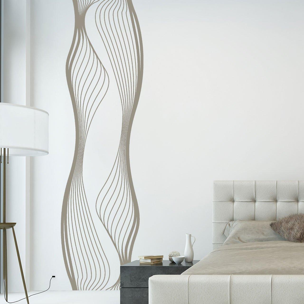 Wunderschön Wandtattoo Streifen Referenz Von Designscape® Banner Liquid | Originelles 58 X