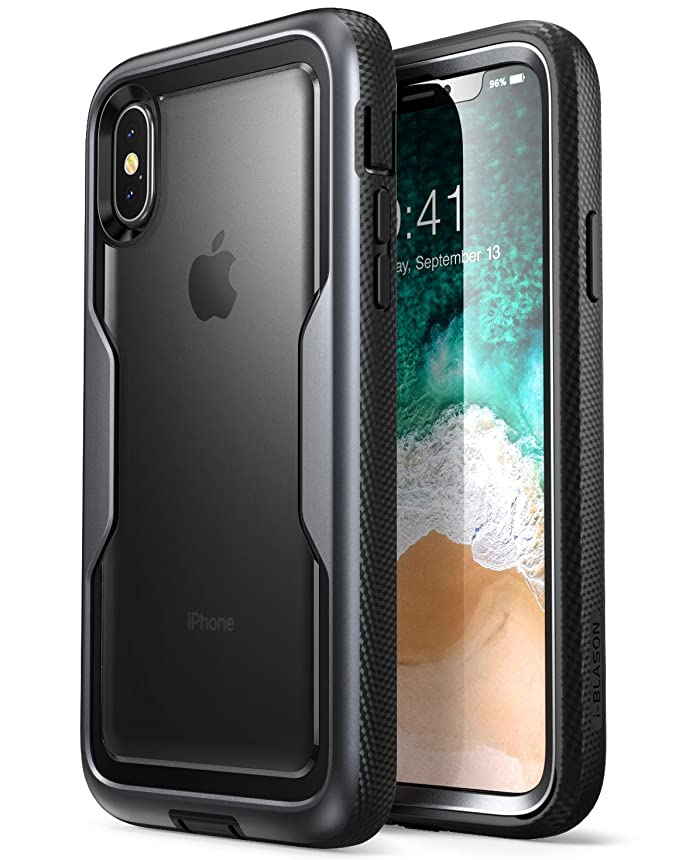 3 opinioni per i-Blason iPhone X iPhone XS Cover, Custodia Protettiva Rigida [Serie Magma]