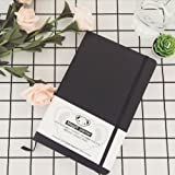 Maggift Planner - Best Daily Calendar and Gratitude Journal to Increase Productivity, Time Management & Happiness - Hardcover, Non Dated Day (Black)