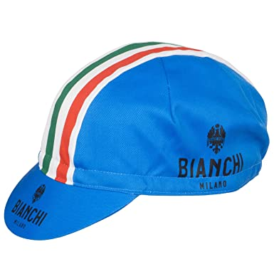e2d3fb884bf Bianchi Milano Retro Style Cycling Podium Cap.  Amazon.co.uk  Clothing