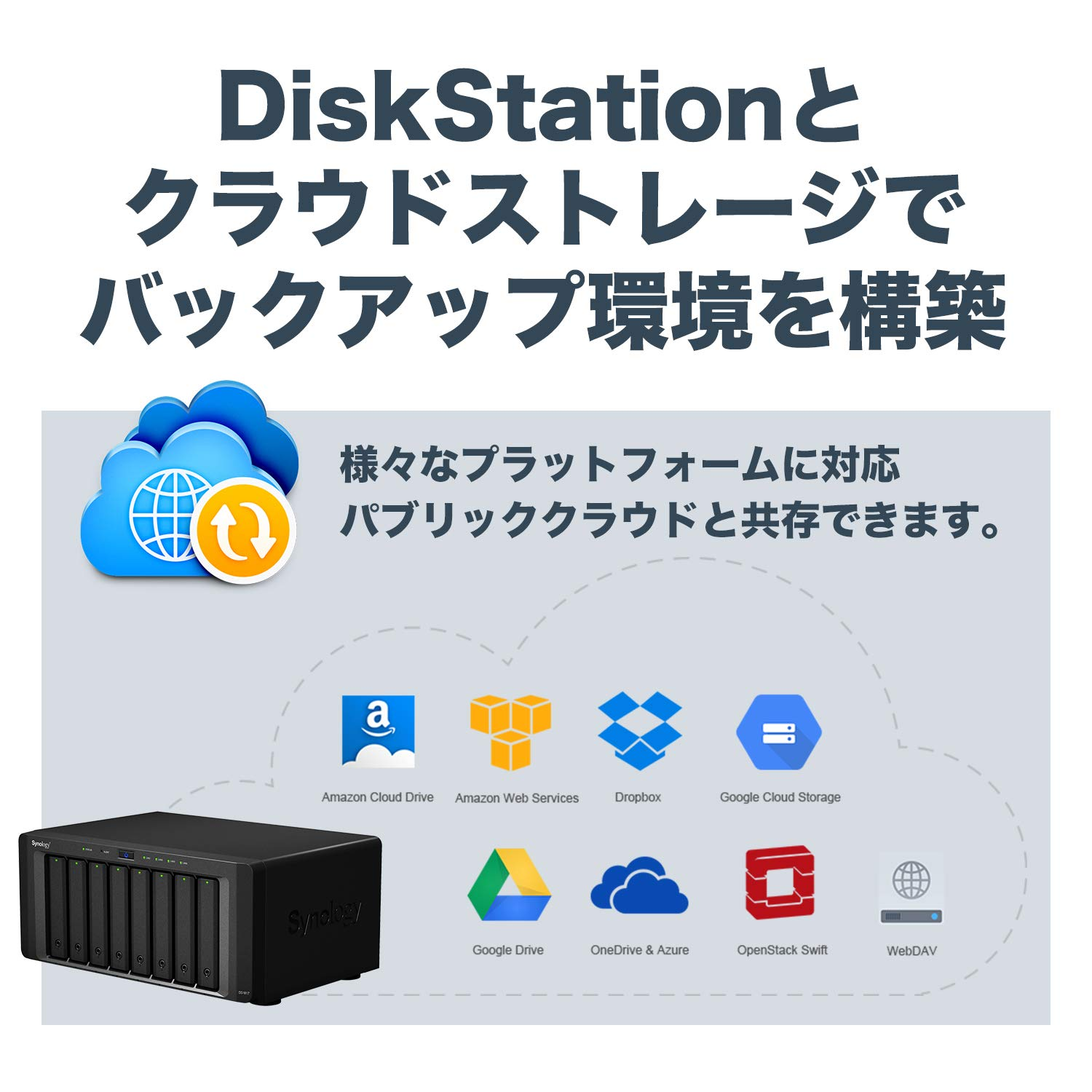 Synology 8 bay NAS DiskStation DS1817 (Diskless) by Synology (Image #5)