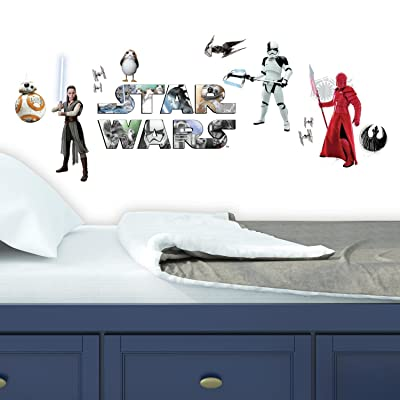 RoomMates Star Wars: The Last Jedi Peel And Stick Wall Decals: Home Improvement