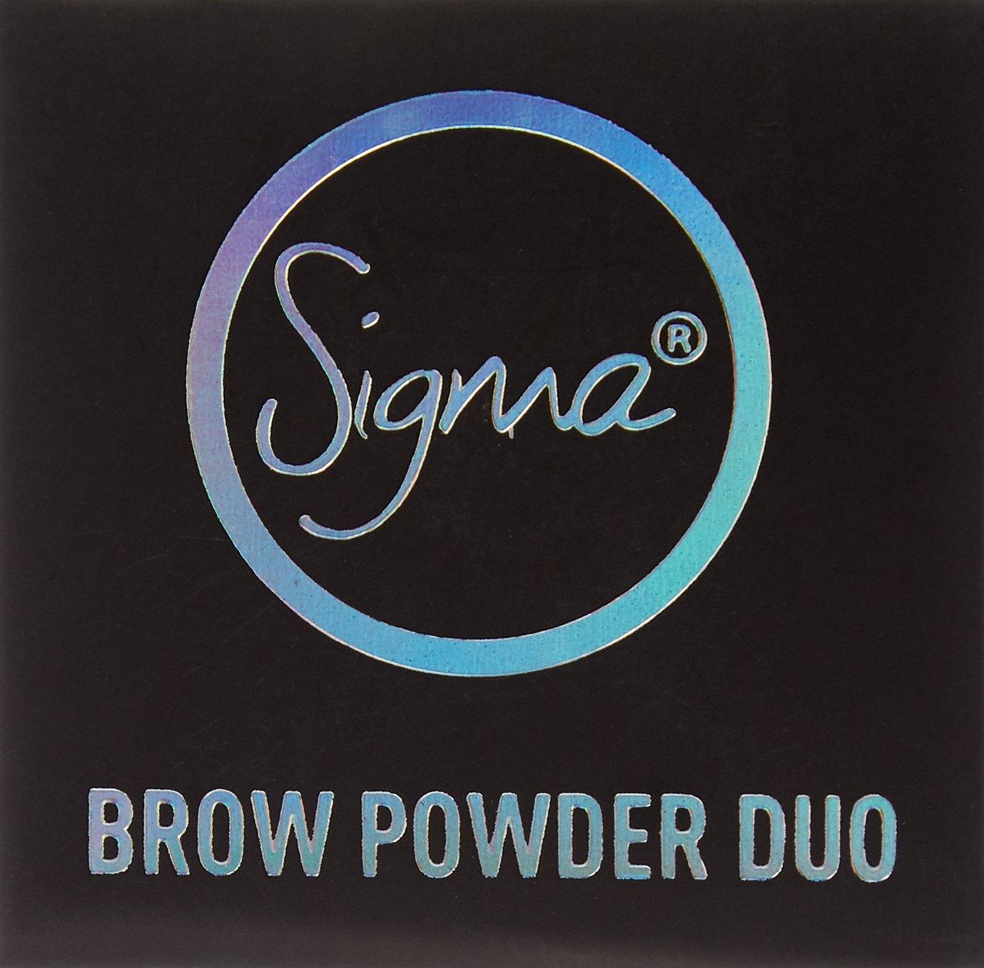 Color + Shape Brow Powder Duo - Medium by Sigma #9