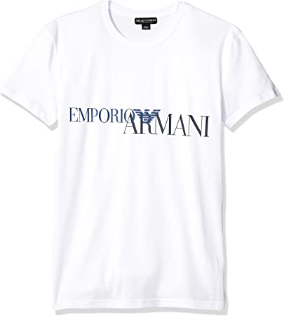 T-shirt camisa cuello redondo hombre manga breve EMPORIO ARMANI artículo 111035 9P516,95% Algodón,