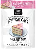 Project 7 Sugar Free Gum, Birthday Cake, 12 Count (Pack of 12)