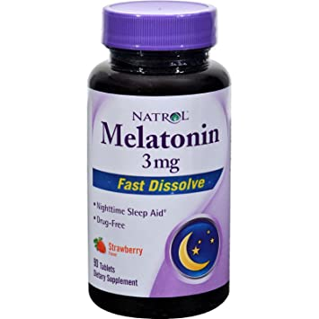 Image Unavailable. Image not available for. Color: Natrol Melatonin 3mg ...