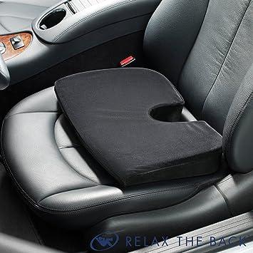 ContourSit Ergonomic Car Seat Cushion Black