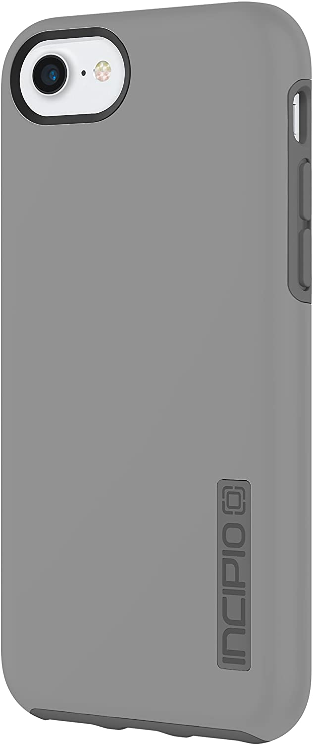 Incipio DualPro iPhone 8 & iPhone 7/6/6s Case with Shock-Absorbing Inner Core & Protective Outer Shell for iPhone 8 & iPhone 7/6/6s - Gray/Charcoal