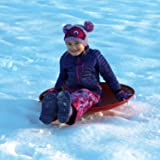 Flexible Flyer Metal Snow Disc Saucer Sled. Steel