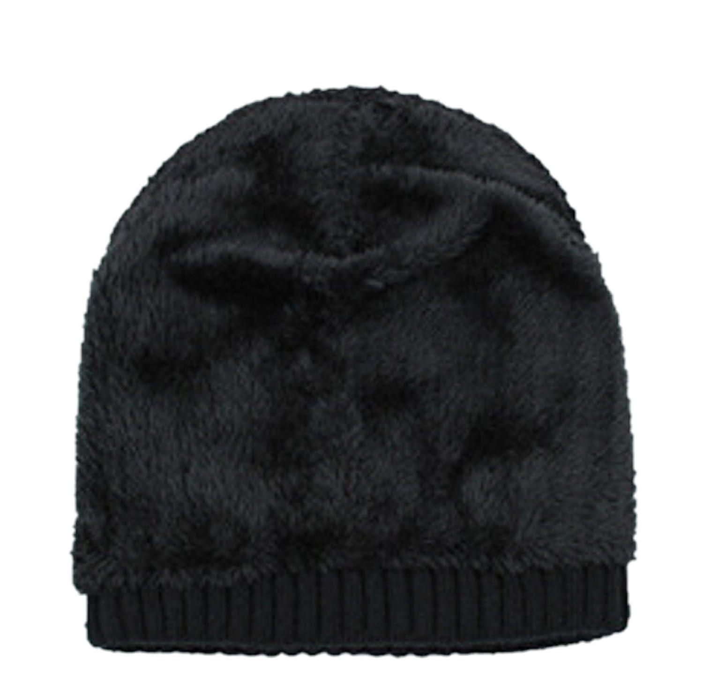f8605512 Amazon.com: Spikerking Mens Winter Knitting Wool Warm Hat Daily ...