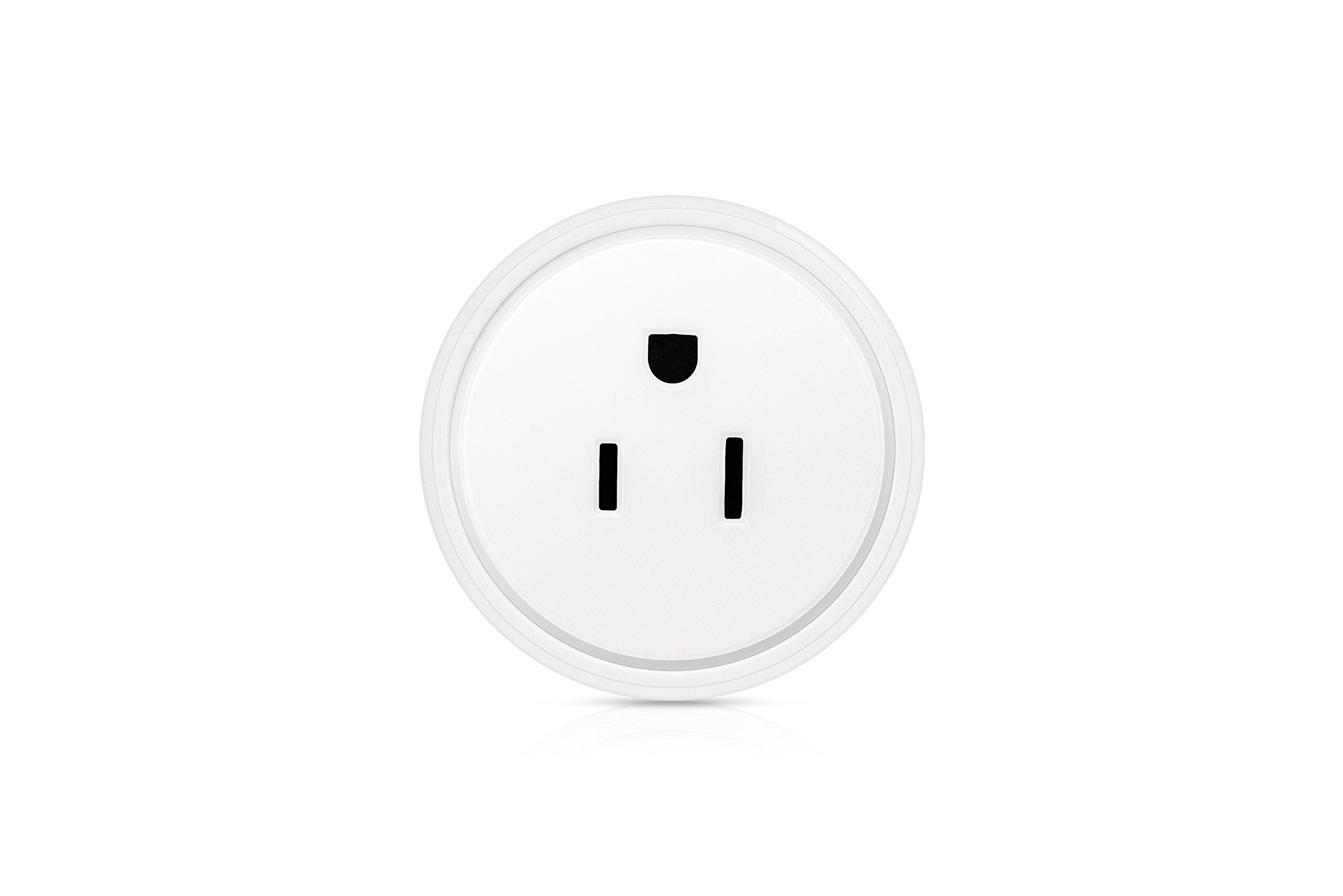 BearDot Mini Smart Plug, wifi smart home devices, no hub required, Compatible with Alexa and Google Home, App and voice control anywhere and anytime, white fashion design as a special gift